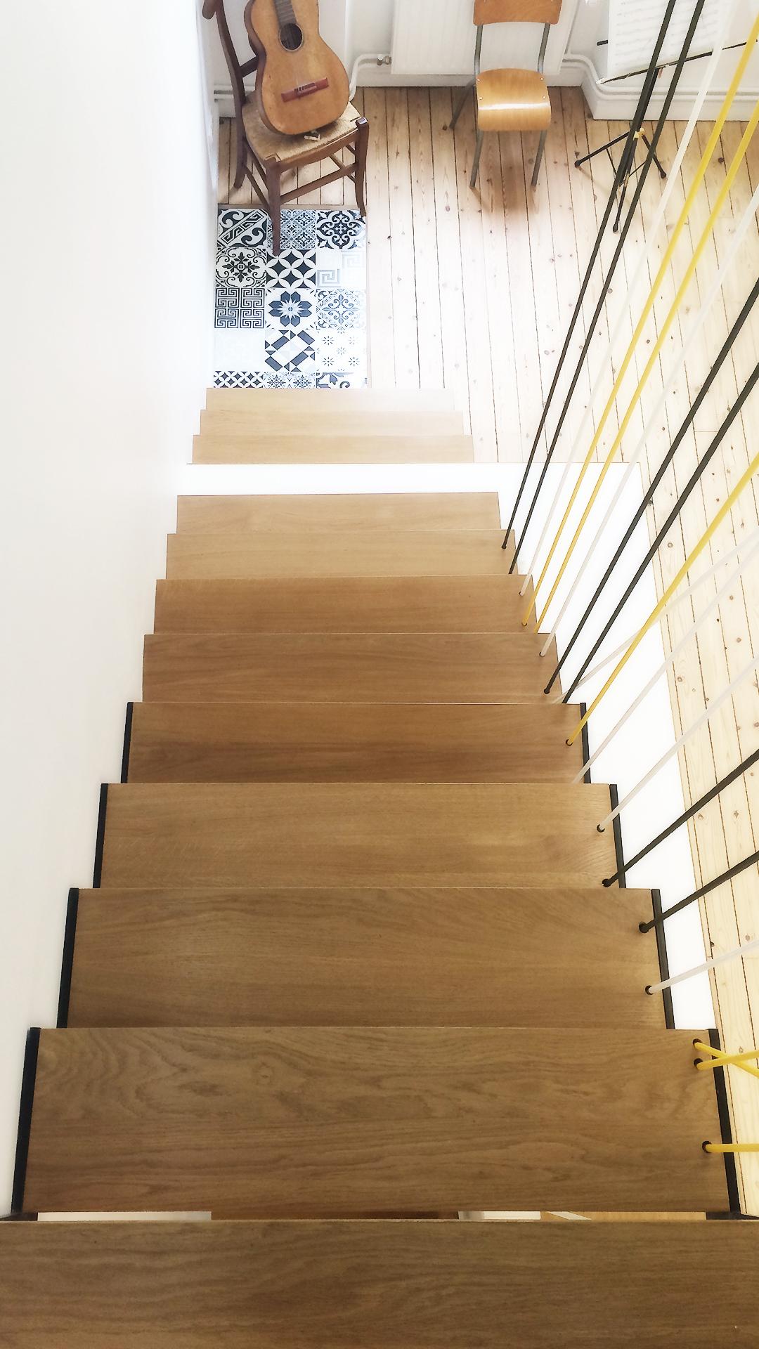 Main Courante Escalier Corde cordes tendues - at design